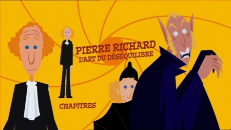 Menu DVD - L'art du déséquilibre - Pierre Richard