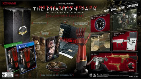 Metal Gear Solid V : The Phantom Pain - Packshot Collector
