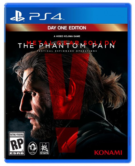 Metal Gear Solid V : The Phantom Pain - Packshot Day One PlayStation 4