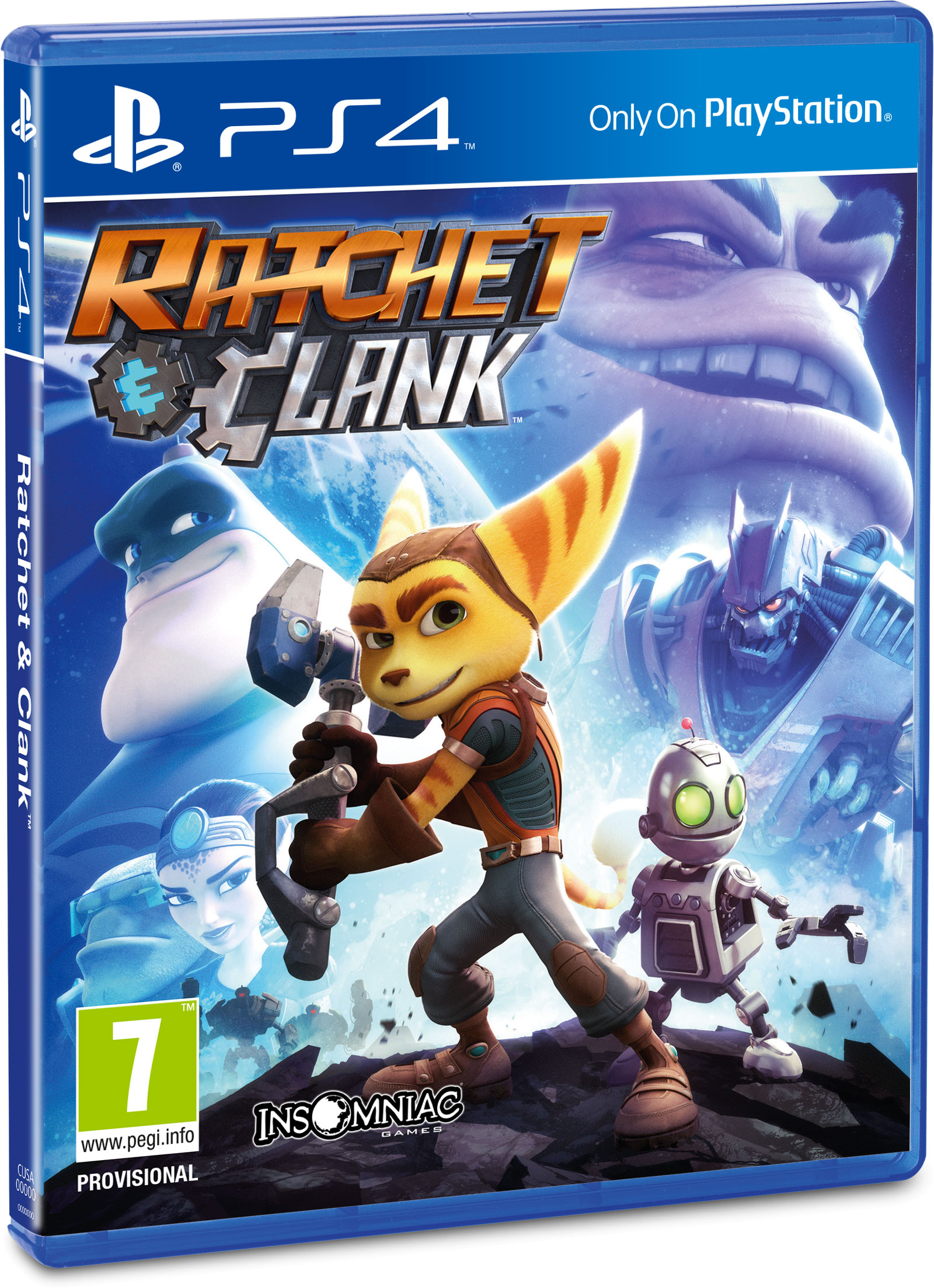 ratchet clank sur playstation 4 au printemps 2016 news jeux vid o digitalcin. Black Bedroom Furniture Sets. Home Design Ideas