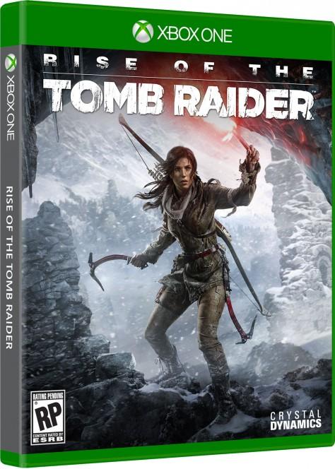 Rise of the Tomb Raider - Packshot Xbox One
