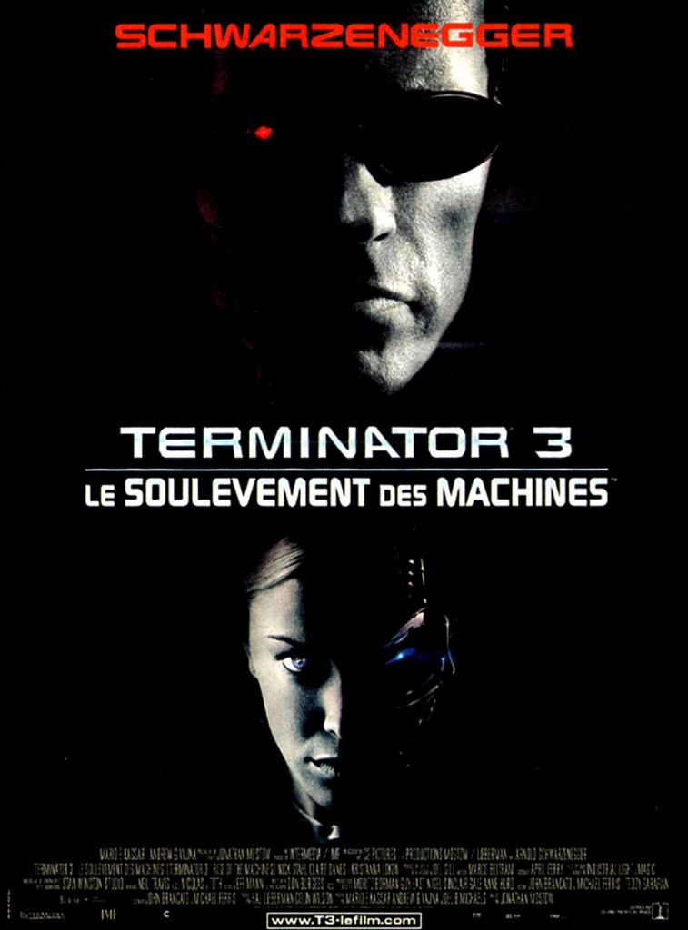 Terminator 3 - Le soulèvement des machines - Affiche France