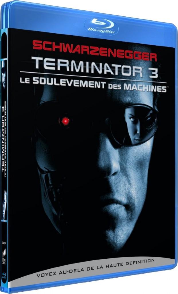 Terminator 3 - Le soulèvement des machines - Packshot Blu-ray