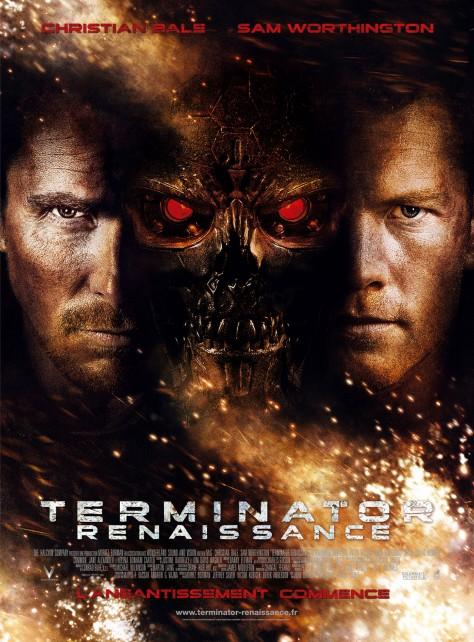 Terminator 4 - Renaissance - Affiche France