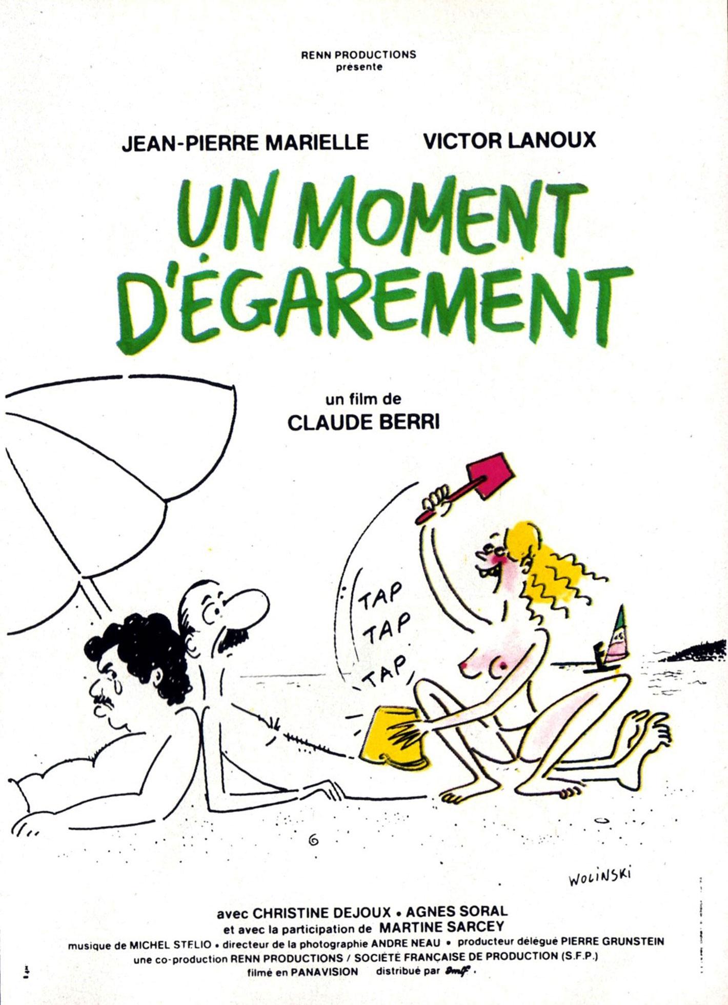 Un moment d'égarement - Affiche 1977