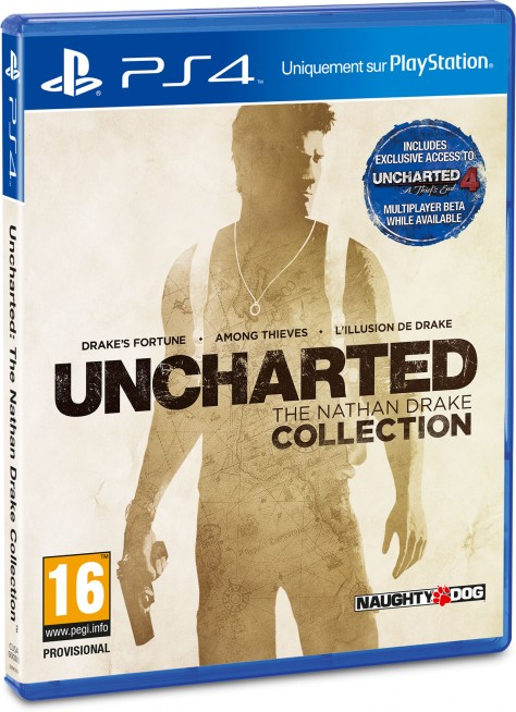 Uncharted : The Nathan Drake Collection - Packshot PlayStation 4