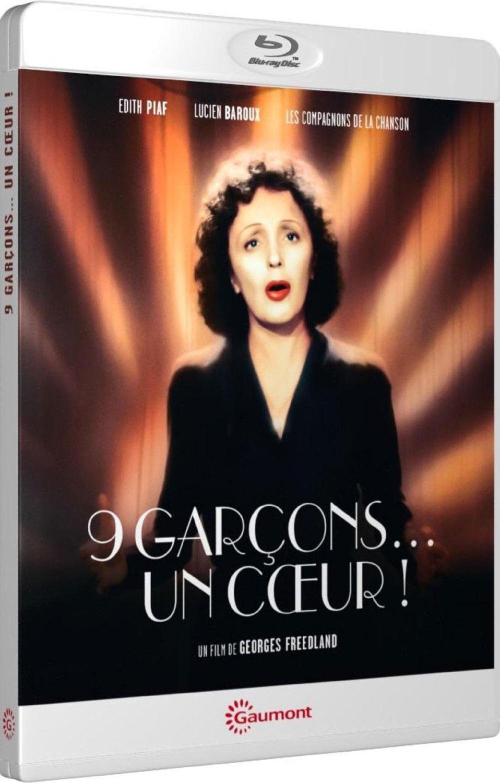 9 garçons… un coeur ! - Packshot Blu-ray Gaumont Découverte