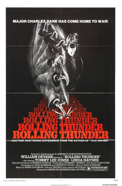 Affiche US - Rolling Thunder