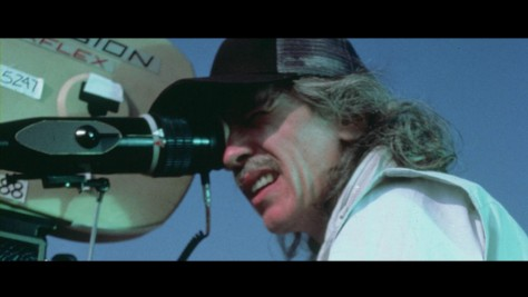 John Carpenter sur le tournage de Invasion Los Angeles