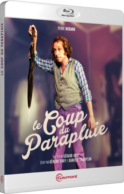 Le Coup du parapluie - Packshot Blu-ray Gaumont Découverte