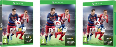 FIFA 16 - Packshot Xbox One