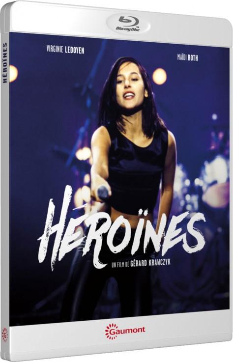 Héroïnes - Packshot Blu-ray Gaumont Découverte