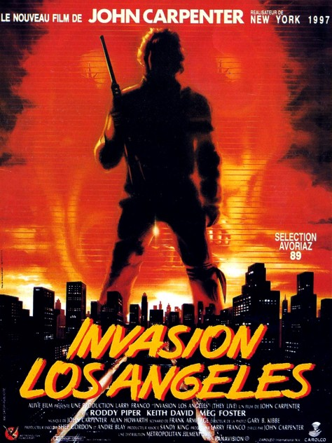 Invasion Los Angeles - Affiche française