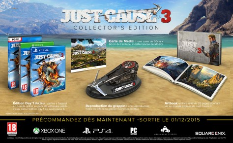 Just Cause 3 - Packshot Collector