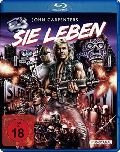 Packshot Blu-ray allemand Invasion Los Angeles