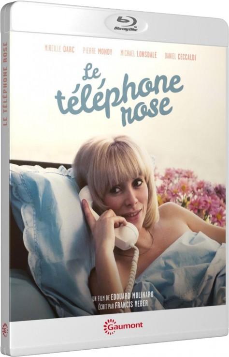 Le Téléphone rose - Packshot Blu-ray Gaumont Découverte
