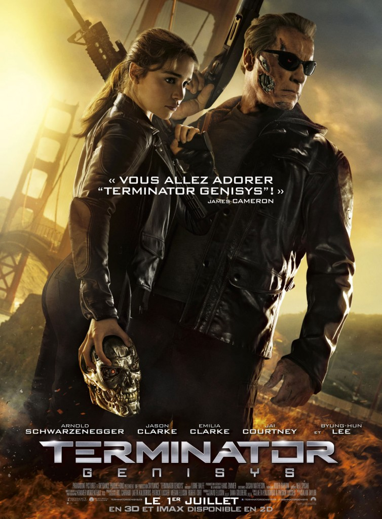 Terminator Genisys - Affiche France