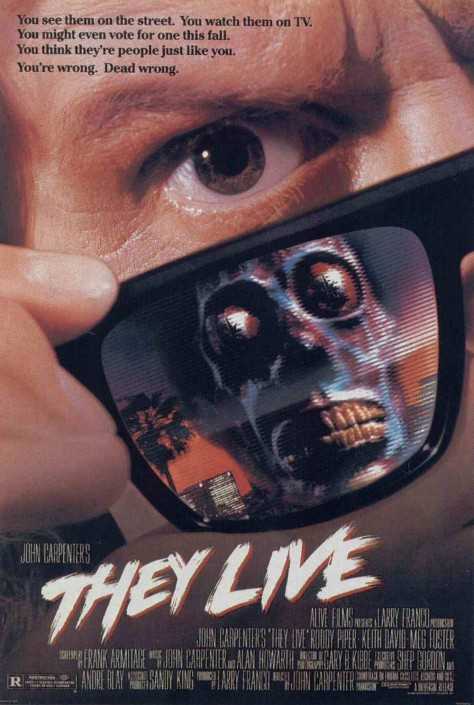 They Live - Affiche US