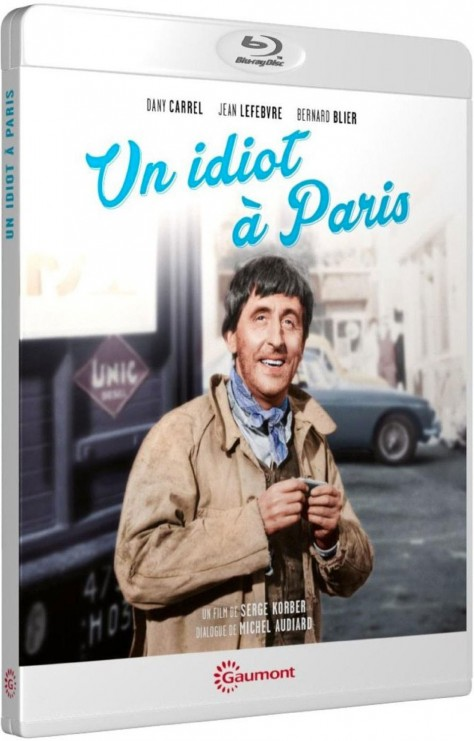 Un Idiot à Paris - Packshot Blu-ray Gaumont Découverte