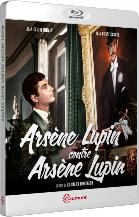 Arsène Lupin contre Arsène Lupin - Packshot Blu-ray Gaumont Découverte