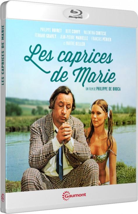 Les Caprices de Marie - Packshot Blu-ray Gaumont Découverte
