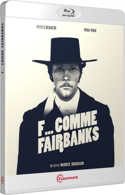 F... comme Fairbanks - Packshot Blu-ray Gaumont Découverte