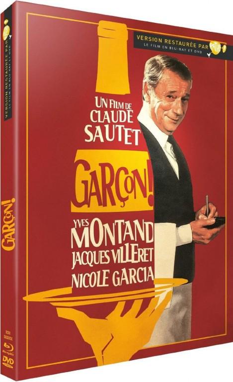 Jaquette Blu-ray - Garçon !