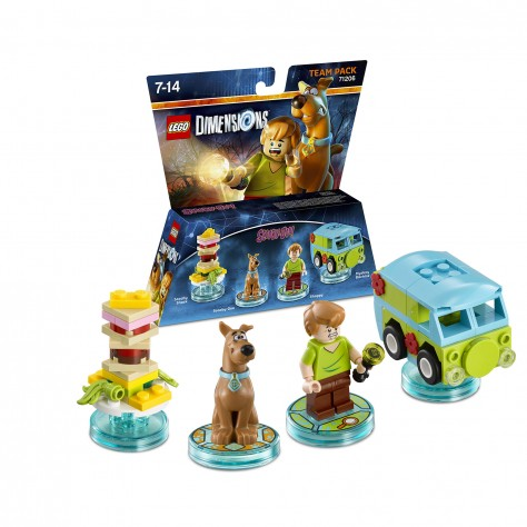 LEGO Dimensions - Team Pack Scooby-Doo
