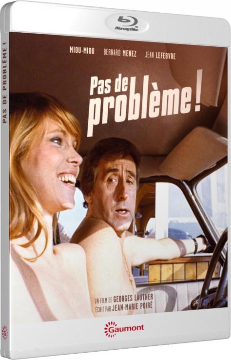 Pas de problème! - Packshot Blu-ray Gaumont Découverte