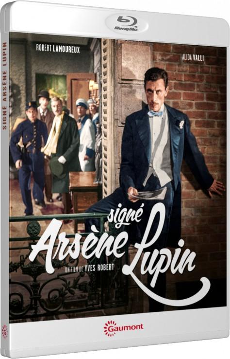 Signé Arsène Lupin - Packshot Blu-ray Gaumont Découverte