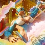 Street Fighter V - Rainbow Mika