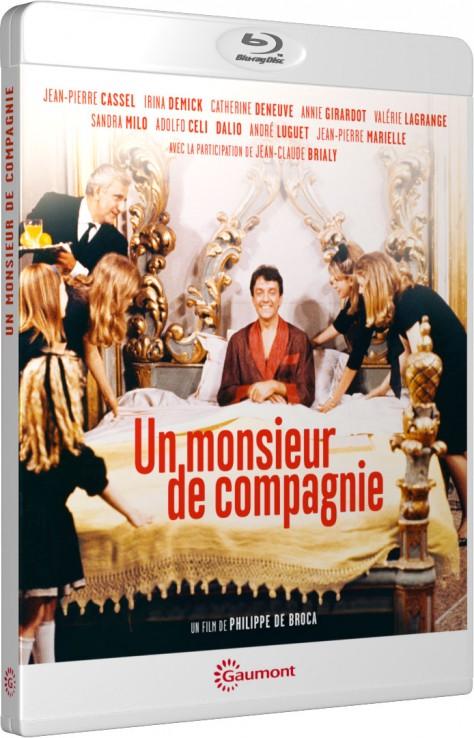 Un monsieur de compagnie - Packshot Blu-ray Gaumont Découverte