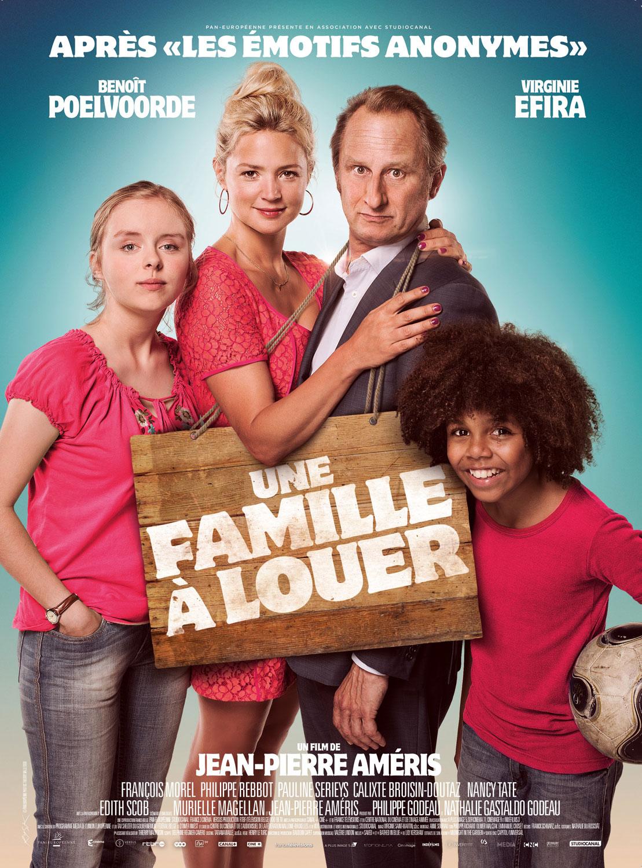 Une famille à louer - Affiche