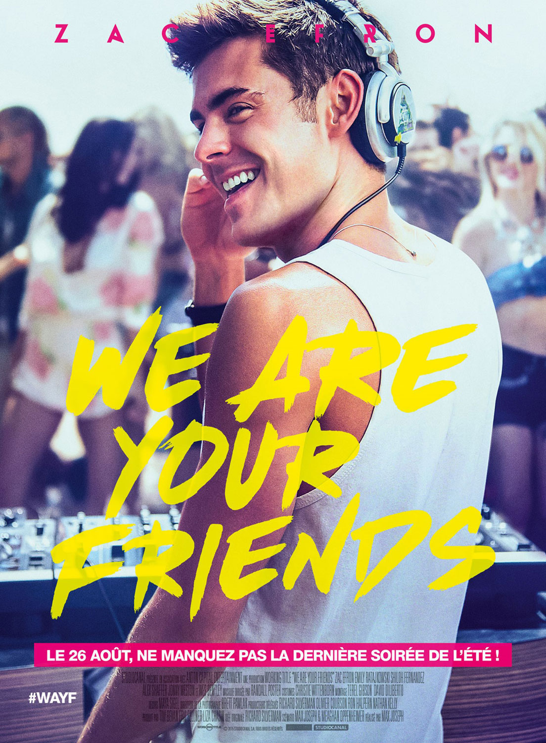 We are your Friends - Affiche