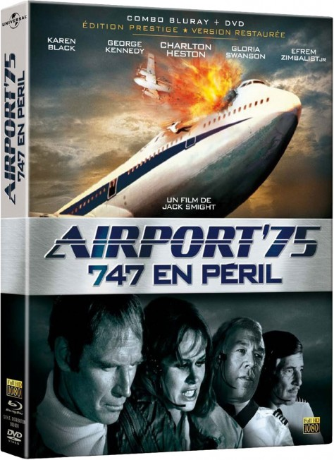 Airport 75 – 747 en péril (1974) – Packshot Blu-ray