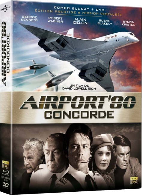 Airport 80 Concorde (1979) – Packshot Blu-ray