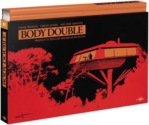 Body Double - Visuel Coffret Blu-ray Carlotta