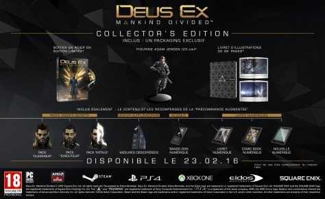 Deus Ex : Mankind Divided - Packshot Edition Collector