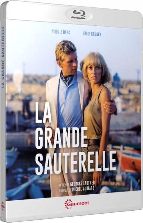 La Grande sauterelle - Packshot Blu-ray Gaumont Découverte