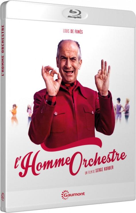 L'Homme orchestre - Packshot Blu-ray Gaumont Découverte