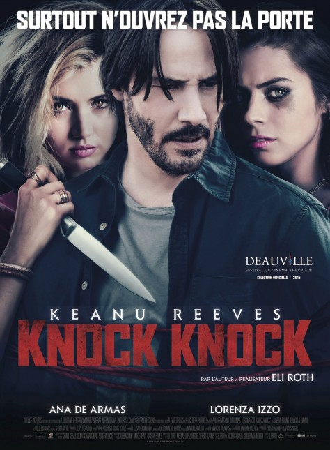 Knock Knock - Affiche