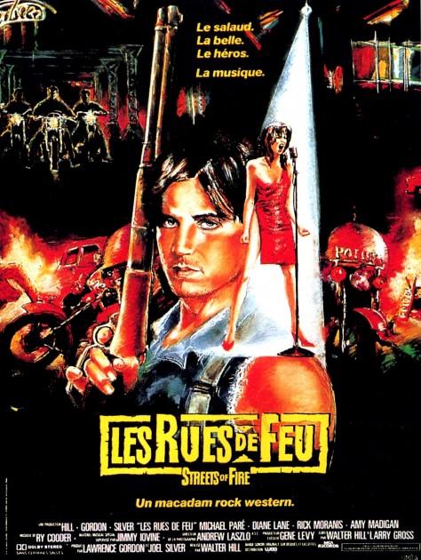 Les Rues de feu - Affiche française d'origine