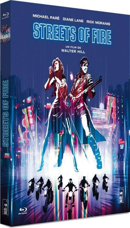 Les rues de feu - Jaquette Blu-ray