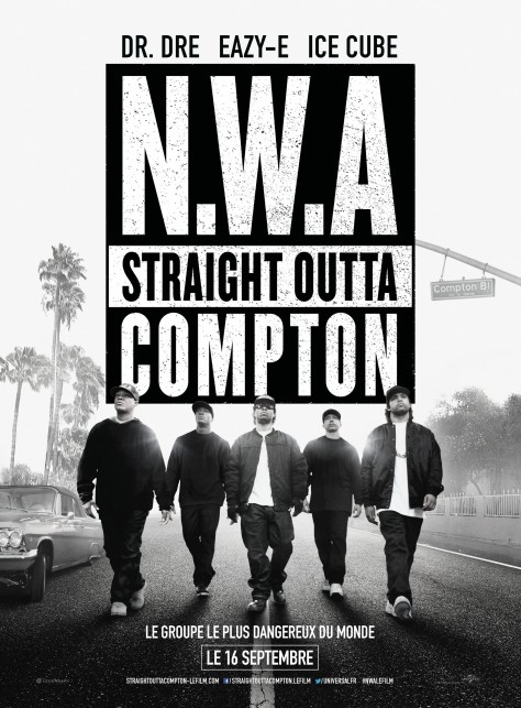 Straight Outta Compton - Affiche
