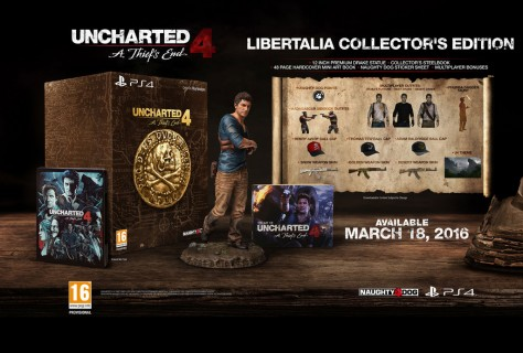 Uncharted 4 : A Thief's End Libertalia Collector's Edition