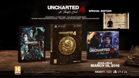 Uncharted 4 : A Thief's End Special Edition