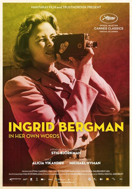 Je Suis Ingrid bergman - Affiche Cannes
