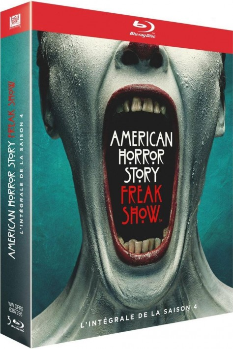 American Horror Story Freak Show - Jaquette Blu-ray