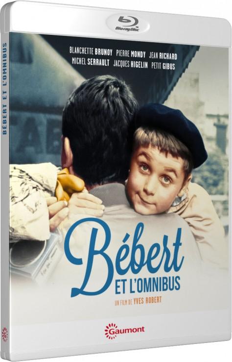 Bébert et l'omnibus - Packshot Blu-ray Gaumont Découverte