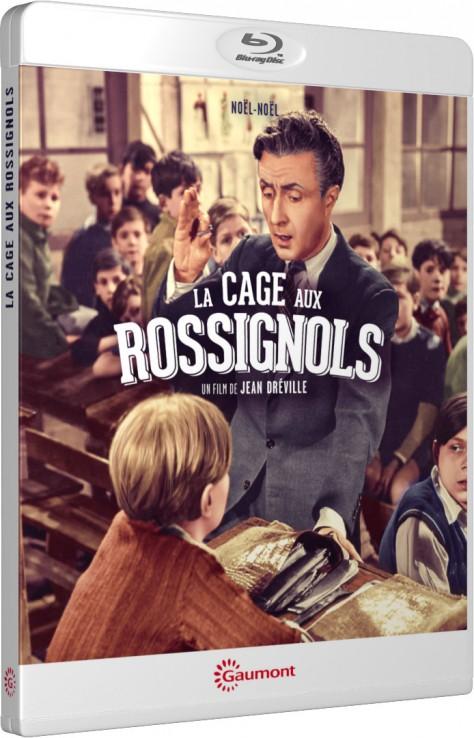 La Cage aux rossignols - Packshot Blu-ray Gaumont Découverte